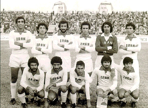 Iran_national_football_team,_1977